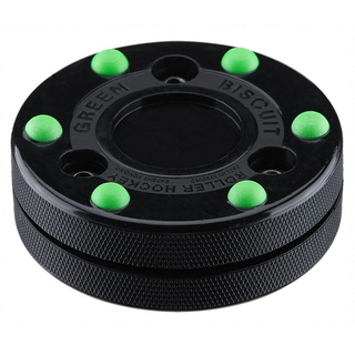 Puck Green Biscuit Roller Hockey