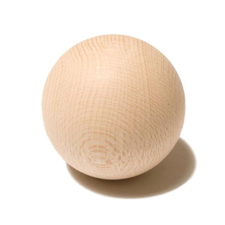 Stickhandling Wood Ball 5cm