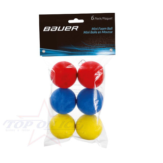 Ball Bauer Mini Schaum-Ball 6er pack