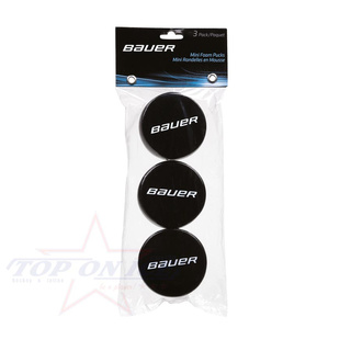Puck Bauer Mini Schaum-Puck 3er pack