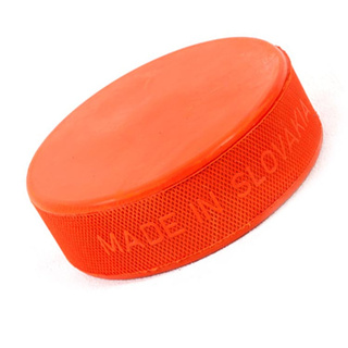 Eishockey Puck orange 280g Heavyweight