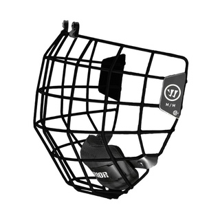 Facemask Warrior Alpha One Black L