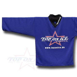 Practice Jersey TOP-ON-ICE Blue