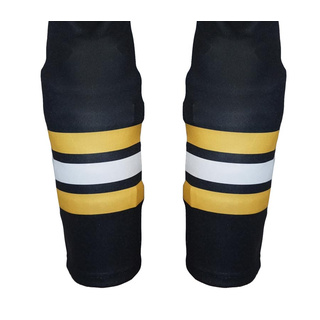 Hockey Socks STEEL Sublimated Boston-Black