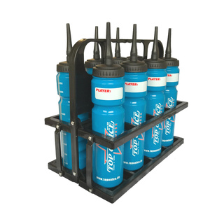 STEEL Bottle Carrier Set incl. 8 TOI Bottles