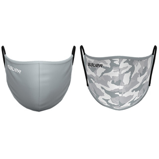 Nose-Mouth-Mask Bauer Reversible grey/camoflage