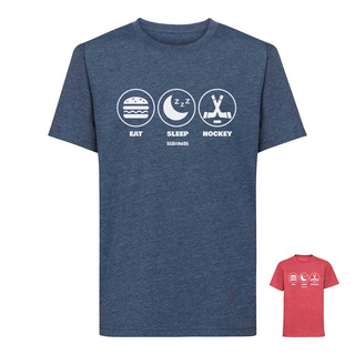 T-Shirt Scallywag Kinder EAT SLEEP HOCKEY Icons