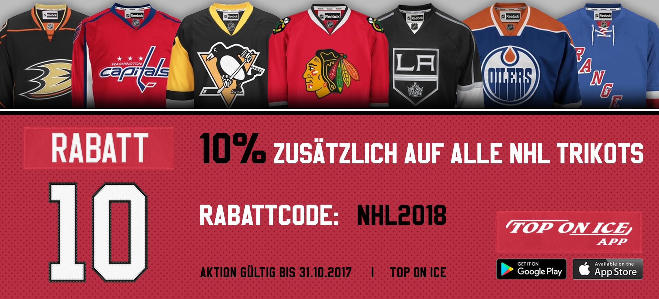 NHL Trikots