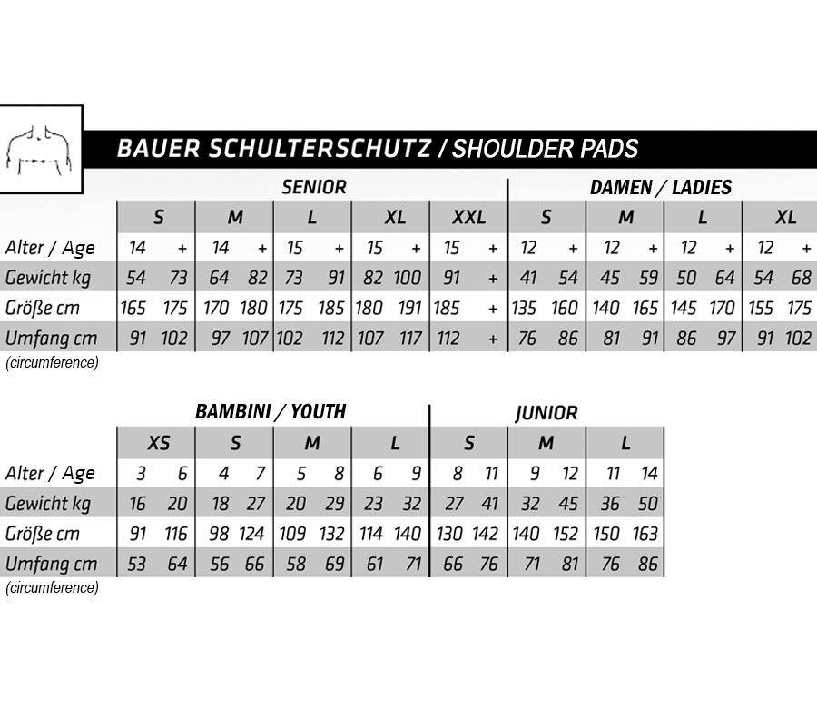 Shoulder Pads Bauer NSX S18 Senior 65af5bd392b8c